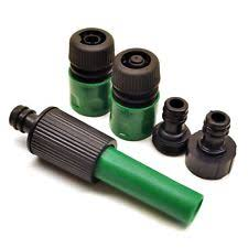 garden hose attachments.  Garden Garden Hose Connector Accessory Fitting Nozzle 5pc Set Watering Attachment  GAR With Attachments S