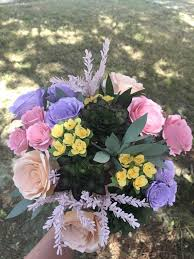 Paper Flower Bouquet Etsy Lavender Pink Yellow And Succulent Paper Flower Bouquet Roses Yellow Freesias Dipped Succulents