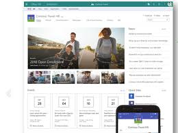 Micro Soft Home Page Sharepoint Hub Sites Als Neue Homepage Macht Microsoft