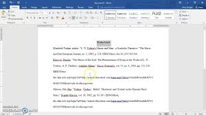 Formatting An Mla 8th Edition Works Cited Page Current For 2018