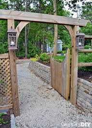 8 diy garden arch plans to frame your