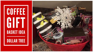 Here are a few gift ideas for the upcoming holidays, or any other gifting opportunities! Coffee Gift Basket Idea Dollar Tree Youtube