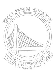Small Picture Golden State Warriors Logo coloring page Free Printable Coloring