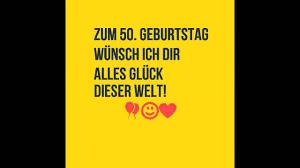 50 Geburtstag Sprüche Die 40 Besten Sprüche Zum 50 Geburtstag