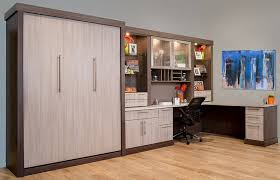 home office with murphy bed. Modern Murphy Bed And Home Office Boston With