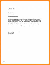 Resignation Letter: Samples Of Resignation Letter With Notice Period ...