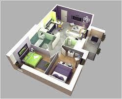 two bedroom 2 bedroom house floor plan