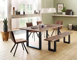 Home Affaire Essgruppenset 6tlglagos Bestehend Aus Dem Micala Esstisch Micala Bank Und 4 Parker Stühlen Kaufen Baur