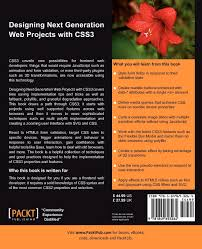 Designing Next Generation Web Projects With Css3 Designing Next Generation Web Projects With Css3 Sandro