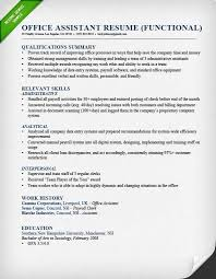Administrative Assistant Functional Resume Adorable Office Assistant Resume Functional Administrative Skills
