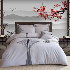 traditional bedding sets. Interesting Sets Royal Home Embroidery Chinese Arts Bedding Sets Traditional Tie Button  Water Washed Cotton Duvet Cover Sheet Pillowcase Hot 6396 Designer Comforter  And