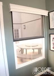 Diy Wood Cornice Diy Window Valance Blinds And Shades Pinterest Valance