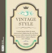 vintage frame design for greeting card vintage3 design