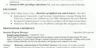 Assistant Property Manager Resume Sample Resume Sample Property