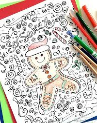 Ginger Bread Man Coloring Page Coloring Pages Of Gingerbread Man