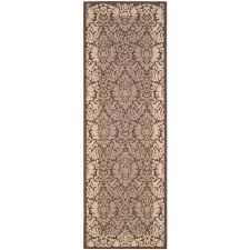 this review is from courtyard chocolate natural 2 ft x 12 ft indoor outdoor runner rug