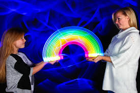 light painting photo booth rainbows hearts sola light ing