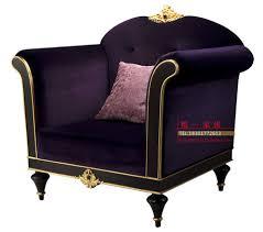 post modern wood furniture. european neo-classical post-modern fabric sofa single solid wood furniture luxury villa model room club post modern