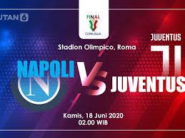 Arkadiusz milik scored the winning penalty after alex meret. Link Live Streaming Final Coppa Italia Napoli Vs Juventus Bola Liputan6 Com