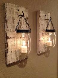 coziness and warmth in wooden pallet sconces