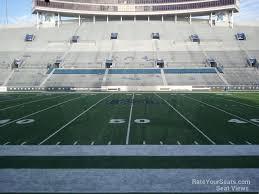 Liberty Bowl Seating Chart Liberty Bowl Section 104 Rateyourseats Com