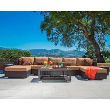 Sirio North America  Niko 6piece Sectional Cover This Cover Won Niko Outdoor Furniture