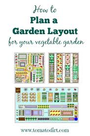 garden layout for growing vegetables