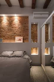 Lighting For Bedrooms 1000 Ideas About Brick Wall Bedroom On Pinterest Tumblr Room