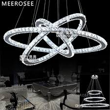 hot led crystal ring chandeliers pendant light led ring suspension chandelier pendant lamp fast maskros pendant lamp lights for ceiling from
