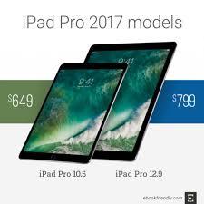 Apple Ipad Pro 10 5 And 12 9 2017 Tech Specs
