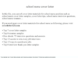 Example Of Nursing Cover Letters Cover Letter Samples Nursing Nurse Sample Cover Letter Sample