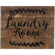 laundry room pallet wood wall decor