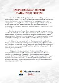 statement of purpose for engineering management writing help statement of purpose for engineering management