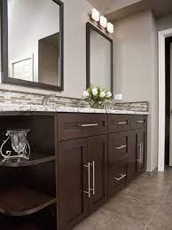 Vanity In Reflection Bathroom Remodel Master Small Bathroom Remodel Dark Wood Bathroom