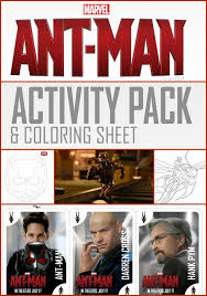 Small Picture Ant Man Coloring Pages
