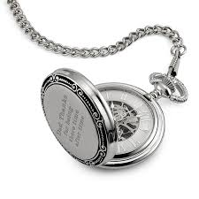engraved pocket watches at things remembered skeleton memento pocket watch