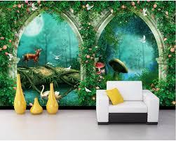 Custom photo 3d room wallpaper Fantasy ...