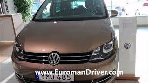 volkswagen sharan 2018.  sharan volkswagen sharan 2018 exterior and interior redesign with euromandriver  test driver on volkswagen sharan