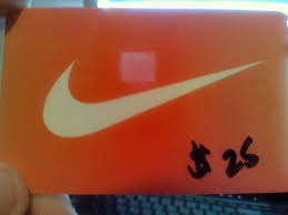 nike gift card unused 25 1 of 1only 1 available
