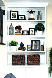 how to decorate shelves gorgeous bedroom