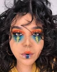 makeup artist explains how to get sunset inspired makeup look