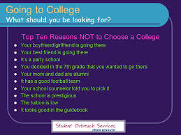 let s talk about life after high school parenting tips choosing a  going to college what should you be looking for