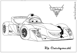 Lightning Mcqueen Coloring Pages Gameslll L