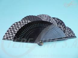 hand fan metal. abanico pintado a mano - hand paintet spanish fan vano pintat mà metal