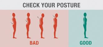 Image result for poor to good posture image