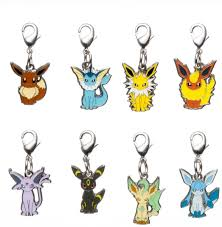 Amazon.com: Pokemon Center National Pokedex Metal Charm 133 134 135 136 196  197 470 471 Eevee Vaporeon Jolteon Flareon Espeon Umbreon Leafeon Glaceon:  Toys & Games