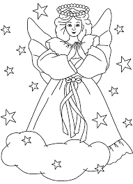 Small Picture coloring pages for kids christmas angels colouring sheets angel