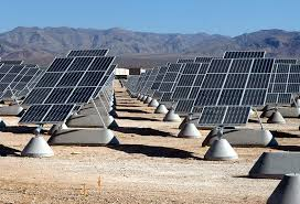 solar photovoltaics energy british columbia a solar pv power plant built outside of nellis air force base in the nevada desert