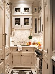 Great For Small Kitchens Bright Small Kicthen Design With Wooden Kitchen Cabinet And White