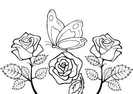 Fiori Da Disegnare Semplici Migliori Pagine Da Colorare